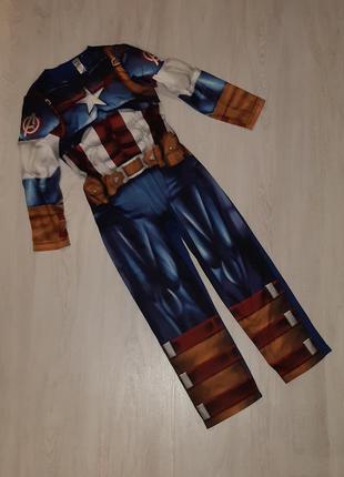 Карнавальный костюм капитана америки marvel