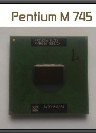 Процессор Intel Pentium M 745 аналог 755 ноутбук 400MHz PGA478