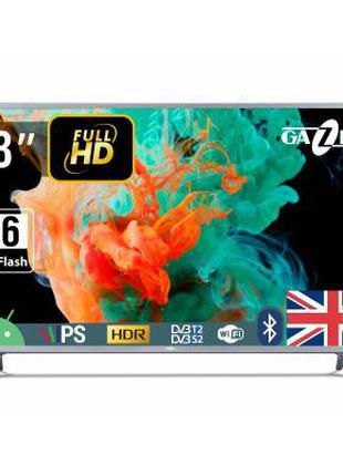 Телевизор Gazer TV43-FS2G 43 Дюйма. Новый. В Наличии. Магазин.