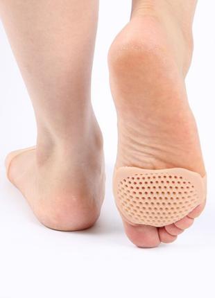Силиконовая подушечка вкладыш для пальцев ног от натоптышей