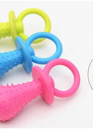 Жевательные игрушка с колокольчиком для кошек и собак Соска Toys