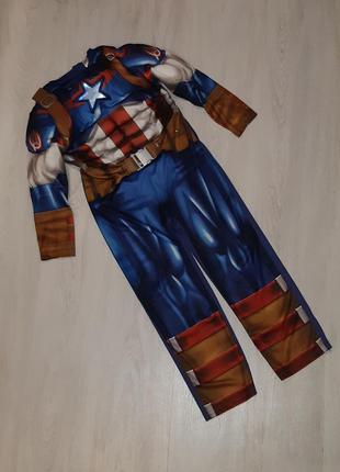 Карнавальный костюм капитан америка marvel
