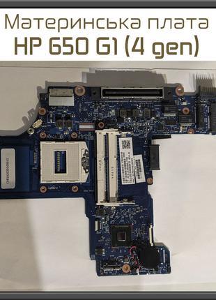 Материнская плата HP ProBook 650 G1 Socket G3 DDR3 HM87