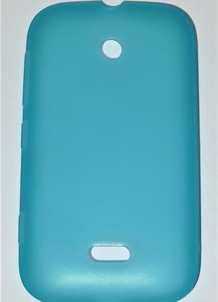 Чехол Nokia CC-1055 для Nokia 510 Lumia cyan Оригинал! 0411
