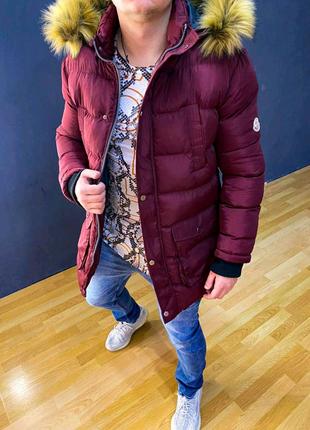 Зимняя куртка MONCLER скидка 50%