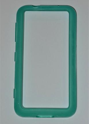 Чехол Nokia CC-1056 для Nokia 620 Lumia cyan Оригинал! 0416