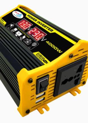 Преобразователь напряжения 12v- 220v. Инвертор 4000W