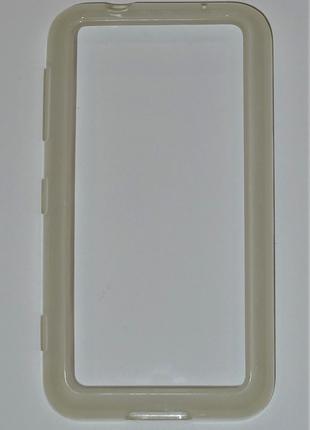 Чехол Nokia CC-1056 для Nokia 620 Lumia прозрачный Оригинал! 0418