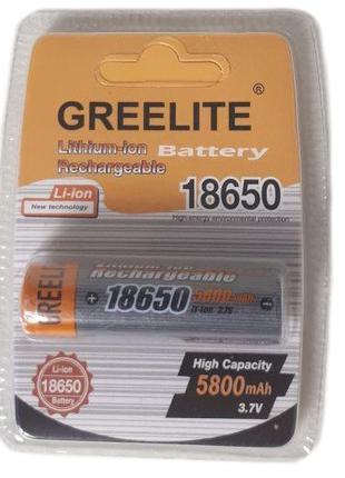 Аккумулятор 18650 Li-Ion Greelite 5800mah