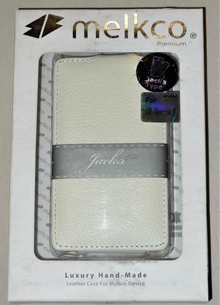 Чехол Melkco для Sony Xperia E C1505 C1605 white 0424