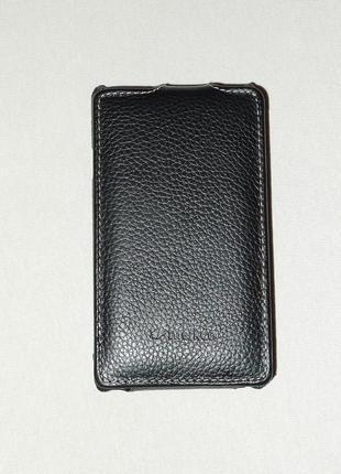 Чехол Melkco для Sony Xperia E C1505 C1605 black 0425