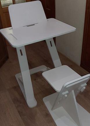Парта-трансформер (стол, столик) для детей