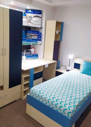 Детская комната для подростка - Стенка - Набор мебели в детскую