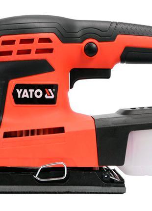 Вибрационная плоскошлифовальная машинка Yato YT-82230