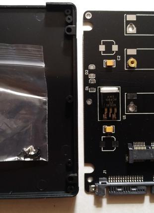 """Переходник для SSD mSATA to Sata в корпусе 2.5"""""""