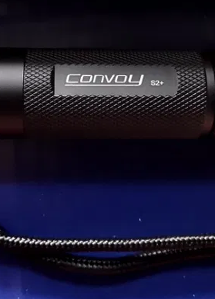 Ліхтар Фонарь Convoy S2+ Cree XML2 T5-5B 4000K 2.8A (черный)