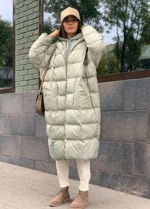 Зимний пуховик, куртка супермодель