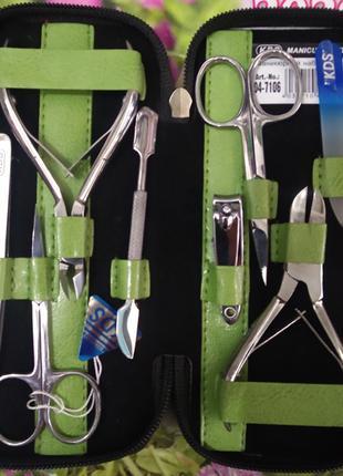 Маникюрно-педикюрный набор kds-7106 (8 предметов)