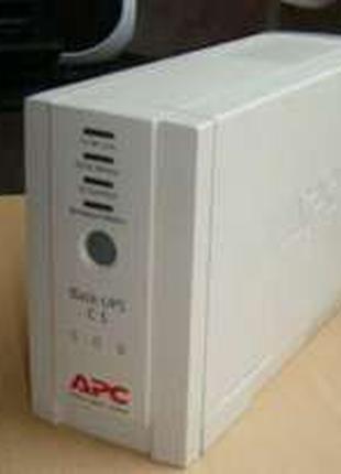 Ибп apc back-ups cs 500 va 300 watt model: bk500-rs, акб рабочие