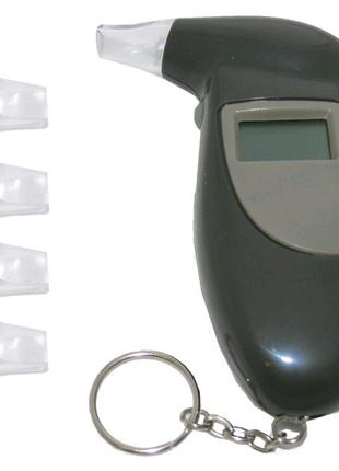 Алкотестер цифровой с мундштуками