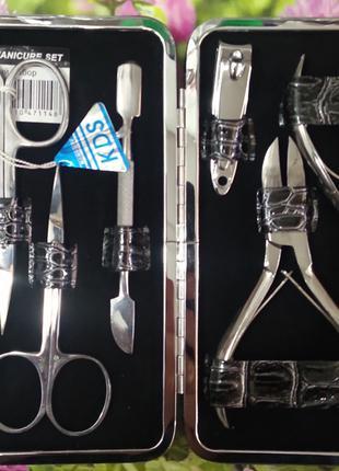 Маникюрный-педикюрный набор kds-7114 (8 предметов)