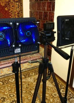 БЕЗ МЕРЦАНИЙ студийный постоянный видео свет (LED прожектор 4000K