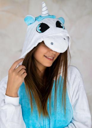 Кигуруми пижама единого белый