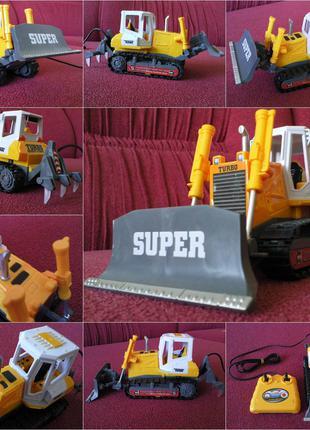 Бульдозер Трактор На дистанционном управлении