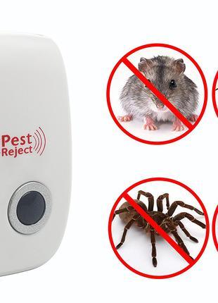 Отпугиватель ультразвуковой комаров, мышей, крыс и насекомых КROX