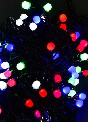 Гирлянда светодиодная 100 лампочек, 10 метров