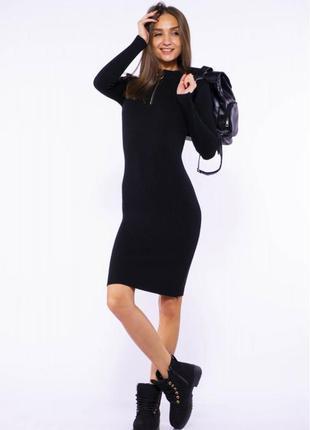 Осень-зима женское платье!