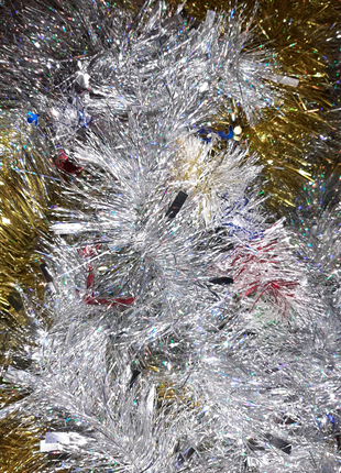 Дождик новогодний мишура 100 мм в диаметре