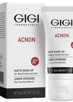 Тональный крем для жирной кожи acnon gigi