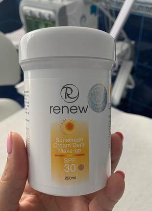 Солнцезащитный тональный крем-антиоксидант spf 30