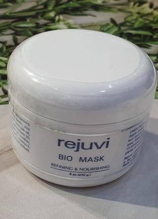 Био маска для жирной кожи лица и шеи rejuvi