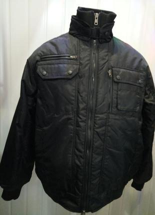 Мужская теплая куртка большого размера