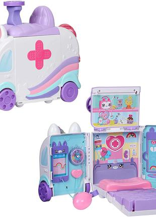 Ігровий набір Kindi Kids Hospital Швидка допомога єдинорога