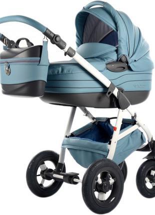 Универсальная коляска 2 в 1 Tako Baby Heaven Exclusive Голубая с
