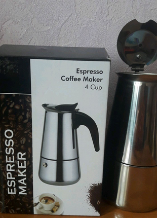 Кофеварка гейзерная на 4 чашки