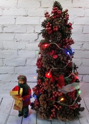 Розпродаж!!! Ялинка з шишок ёлка елка с шишек гирлянда гірлянда