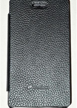 Чехол Melkco для Sony Xperia E C1505 C1605 black 0426
