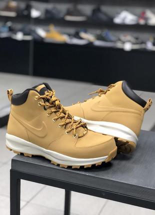 Зимние ботинки nike manoa leather оригинал 45