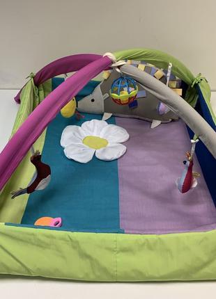 Большой развивающий коврик детский с игрушками
