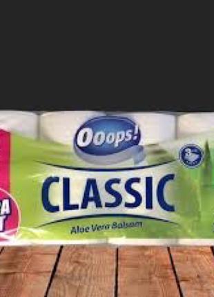 Туалетная бумага 3х слойная Ooops!  16шт (140 от