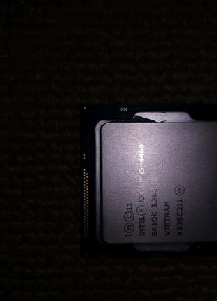 Intel core i5 4460, с кулллером