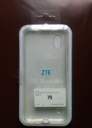 Оригінальний захисний бампер для ZTE Blade A7 2019(новий)