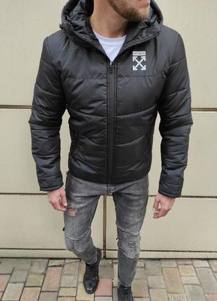 Мужская зимняя куртка off white
