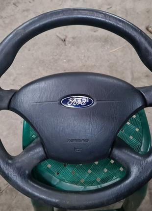 Водительский AIRBAG + руль. Ford Focus Mk1.