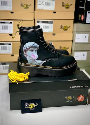 Dr. martens jadon david michelangelo женские кожаные ботинки 🆕...