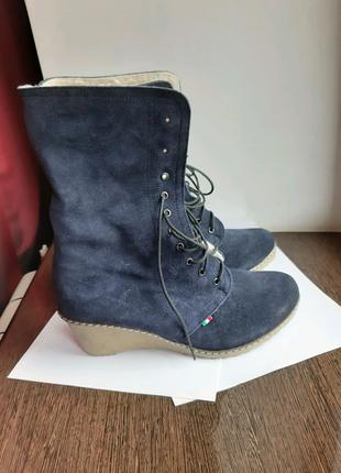 Ботинки зимние полусапоги женские ботильоны